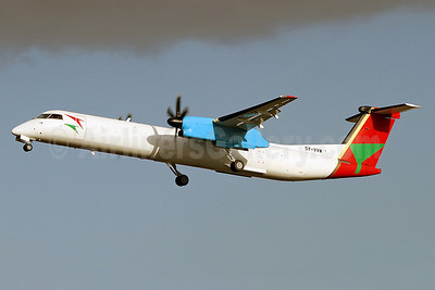 Blue Bird Aviation Bombardier DHC-8-402 (Q400) 5Y-VVW (msn 4011) SEN (Keith Burton). Image: 910919.