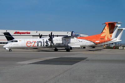 Eznis Airways Bombardier DHC-8-402 (Q400) OY-YAH (JU-9919) (msn 4106) YYZ (TMK Photography). Image: 927505.