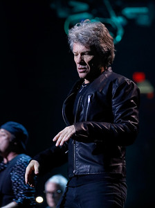 Bon Jovi  live at Joe Louis Arena on 3-29-2017. Photo credit: Ken Settle