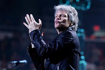 Bon Jovi  live at Joe Louis Arena on 3-29-2017. Photo credit: Ken Settle