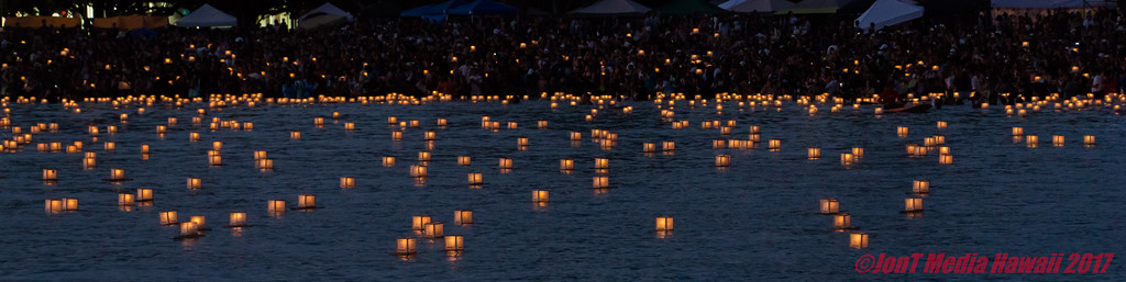 Lantern Floating Hawaii 2017 Ceremony @ Ala Moana Park