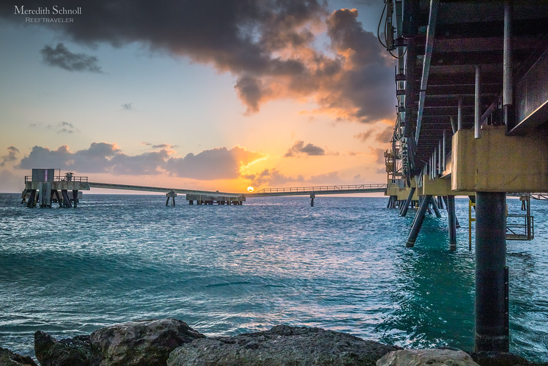 Salt Pier Sunset