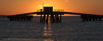 Sunset at Salt Pier