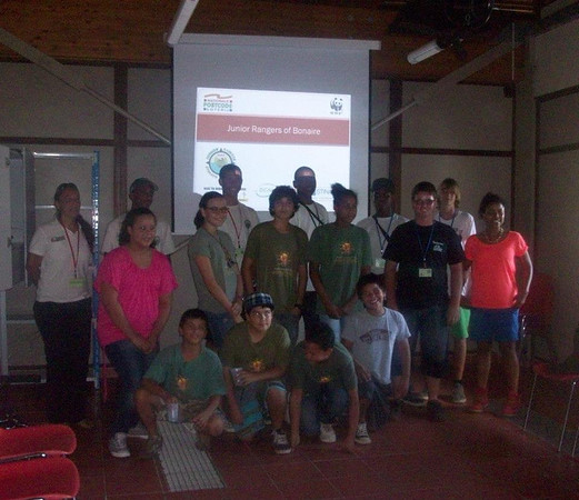2012 Bonaire Junior Rangers Exchange to Aruba