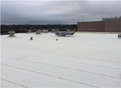 HS Roofing - Area J complete in February 2017.