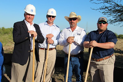 Groundbreaking Ceremony held at the new elementary school site located in Voss Farms.