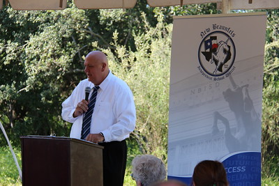 Groundbreaking Ceremony held at the new elementary school site located in Veramendi.