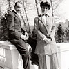 Frank and Maggie Bond at WIllowbrook, May 1908