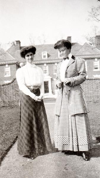 Maggie Bond at WIllowbrook, May 1908