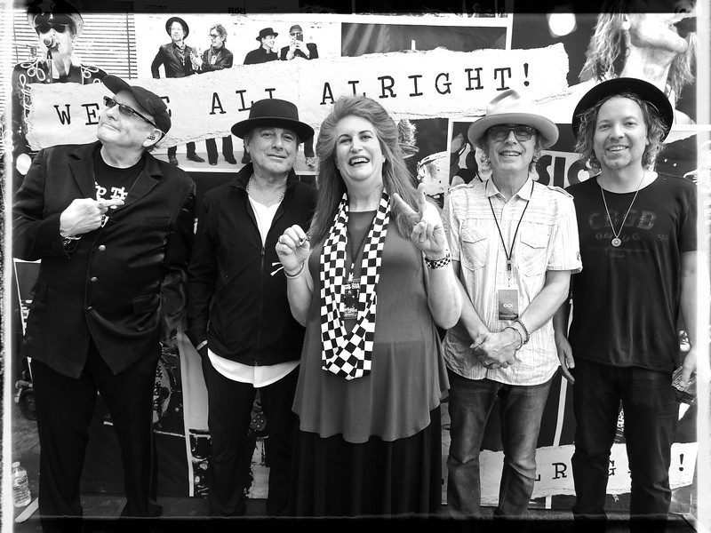 Cheap Trick and Robin Diane Goldstein
