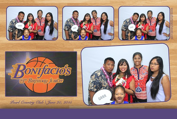 Bonifacio's 75th Birthday (Fusion Photo Booth)