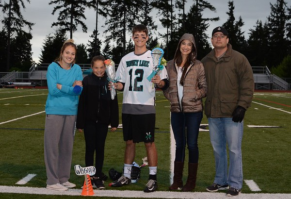 Bonney Lake HS Lacrosse Senior Night