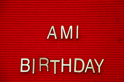 Ami Birthday 0001