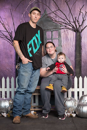 RJ, 5 months, and family, Muskogee