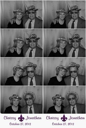 Chrissy & Jonathan 10.27.12 @ The Louisiana State Museum