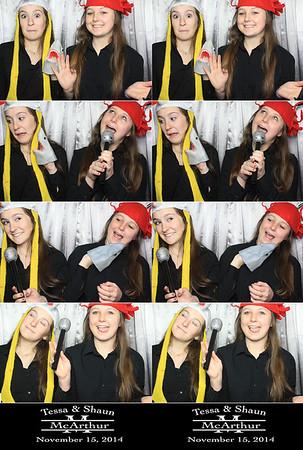 Tessa & Shaun 11.15.14 @ Benedicts