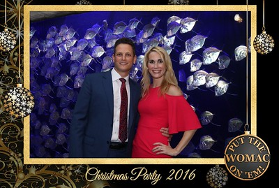 Womac Law Firm Christmas Party 12.17.16 @ Aquarium of the Americas
