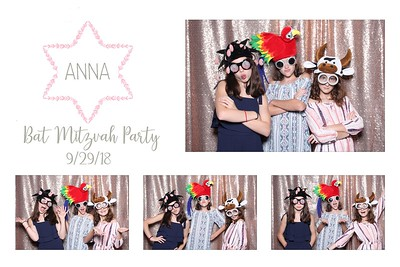 Anna's Bat Mitzvah 9.29.18 @ The Chicory