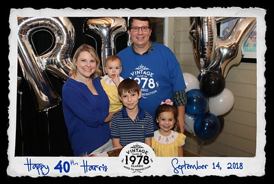 Harris's 40th Birthday 9.14.18 @ Southport Hall