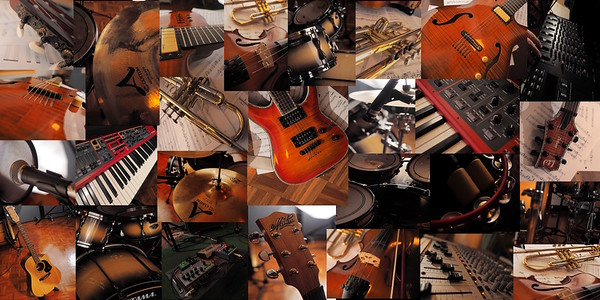Glorious instruments - centrefold: Where's my Taiko Drum by Adam McDonnell - upcoming CD ... watch out for the release.