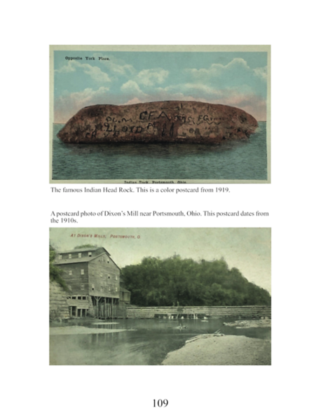 Postcards from around Scioto County. Page 109