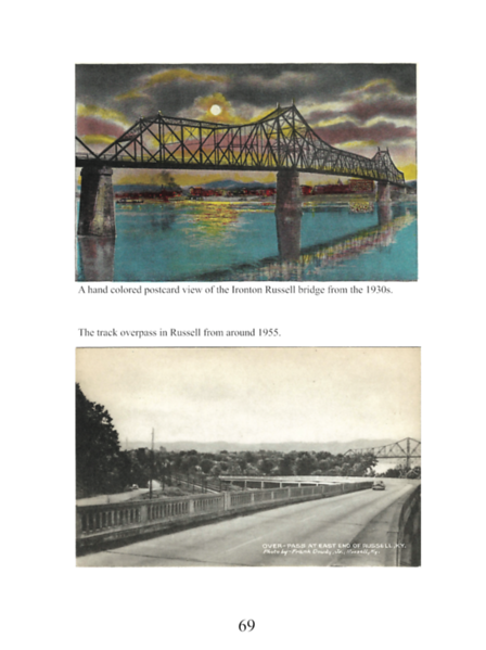 Two postcards from Russell.