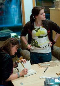 DRAGON'S KEEP booklaunch.... ... (c) photos by Heidi Pettit