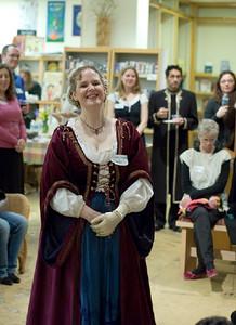 Queen Gweneth, aka Author Katherine Grace Bond  ... (c) photo by Heidi Pettit