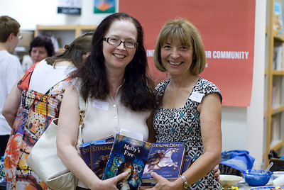 Fans of Janet Lee Carey's books ...  (c) photo by Heidi Pettit