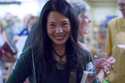 Author Justina Chen ...  (c) photo by Heidi Pettit