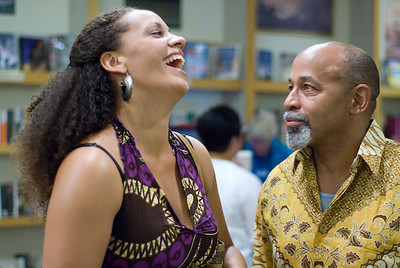 Dancer Aina Braxton and her father, Robert ...   (c) photo by Heidi Pettit