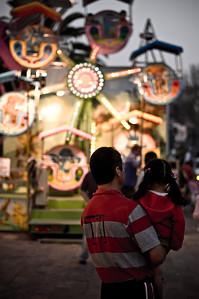 A carnaval in Guanajuato, Mexico.
