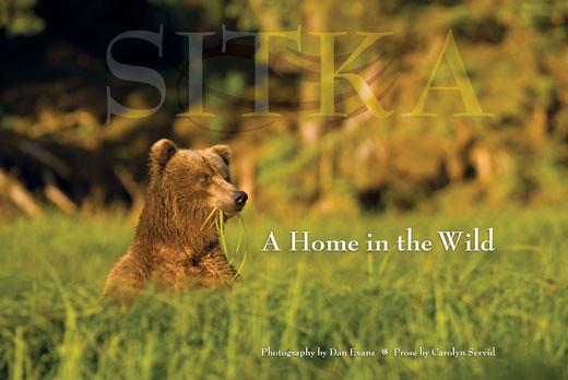 """Says <a href=""""http://pathfinder.smugmug.com/"""" target=""""_blank"""">Jim Pickrell</a> about this book:  If you have ever wondered what living in Alaska is like, you only need to read, and carefully examine Dan Evans and Carolyn Servid's """"Sitka - A Home in the Wild"""" for a intimate look at living in the northern rain forest that is Sitka, Alaska.  Dan grew up in the Catskill Mountains of New York state, attended Sheldon Jackson College (in Sitka), and never left Alaska, but made a permanent home in its wilderness as a carpenter, logger, commercial fisherman, diver, firefighter and finally as a master photographer.   """"Sitka - A Home in the Wild"""" is Dan's photographic essy of his love for Sitka, from the rainforests, the muskeg, the whales, fish, bears, and plant life, to the native culture, and its totem poles, that are so present in Sitka.   His book is well worth reading, and having on your coffee table for those quiet moments of reflection on the meaning of life.   You can see more of Dan's publications <a href=""""http://www.alaskadanevans.com/dev/"""" target=""""_blank"""">here</a>.  You can discuss this book <a href=""""http://www.dgrin.com/showthread.php?t=189398"""" target=""""_blank"""">on Digital Grin</a>."""