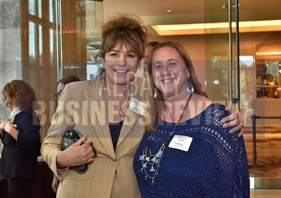 Aurelia Lazzari, left, and Kate Fahey from DoubleTree by Hilton Schenectady