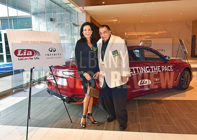 Linda and Bill Lia Sr. from sponsor Lia Auto Group.