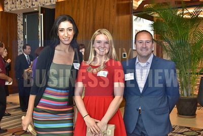 Shannon Saiid, Alicia Novak and Michael Gleasman from Accent Commercial Furniture