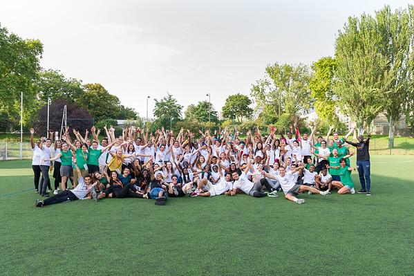 Association Frateli. Campus d'été qui accueille les nouveaux filleuls Frateli. L'association lutte en faveur de l'égalité des chances