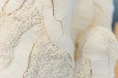 Détail matière d'une oeuvre de Simone Pheulpin pour les Ateliers d'Art de France