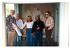 The Depot Committee: Ray Baird, George Adams, Phyllis Olsen, Gary Coombs, and Gene Allen. acc2008.003.0040