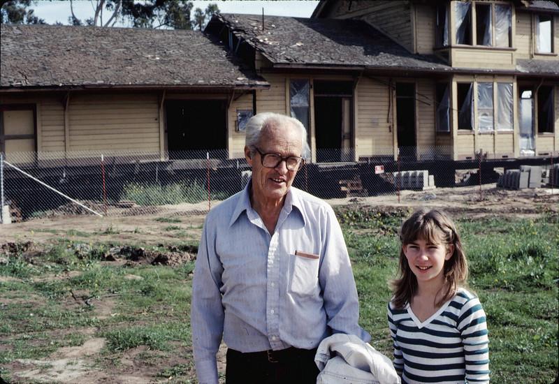 George Adams and Stephanie Coombs, Jan. 1982. acc2005.001.0131