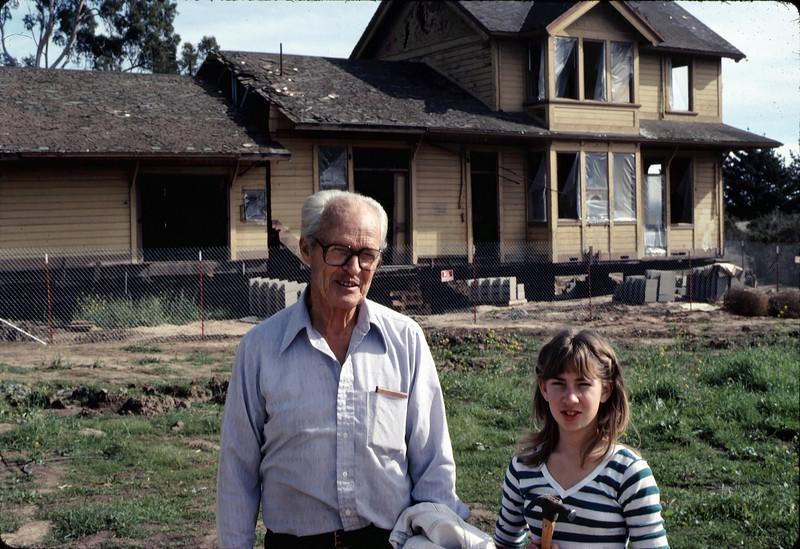 George Adams and Stephanie Coombs, Jan. 1982. acc2005.001.0130