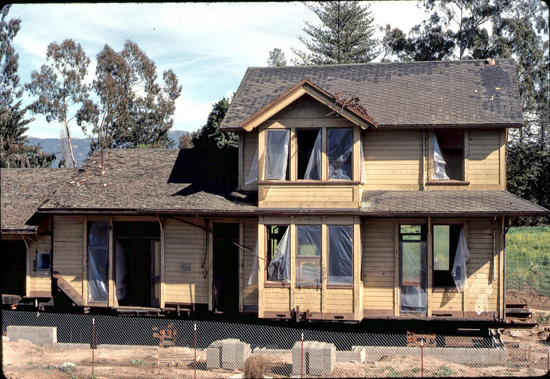 Foundation complete, Jan. 1982. acc2005.001.0132