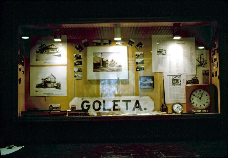 Exhibit at Goleta Library, 3/1982. acc2005.001.0205