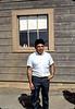Agent Frank Vasquez at Surf depot, 8/1982.. acc2005.001.0291