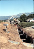 Sewer trenching by South Coast Contractors, Jan. 1982. acc2005.001.0140