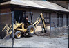 Trenching for loading dock footings, 7/1982. acc2005.001.0264