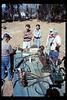 Depot Day steam display (Ernie Thomsen, Jim Higman), 10/1990. acc2005.001.1389