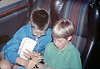 Museum leads Vieja Valley Elementary School rail trip to Glendale, 4/1989. acc2005.001.1074