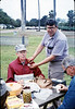 Asphalt Regatta spring fundraiser (John Starr and Jon Bartel), 4/1989. acc2005.001.1094