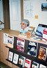 Theresa Caccese clerks in the new Trackside Shop museum store, 10/1988. acc2005.001.1015